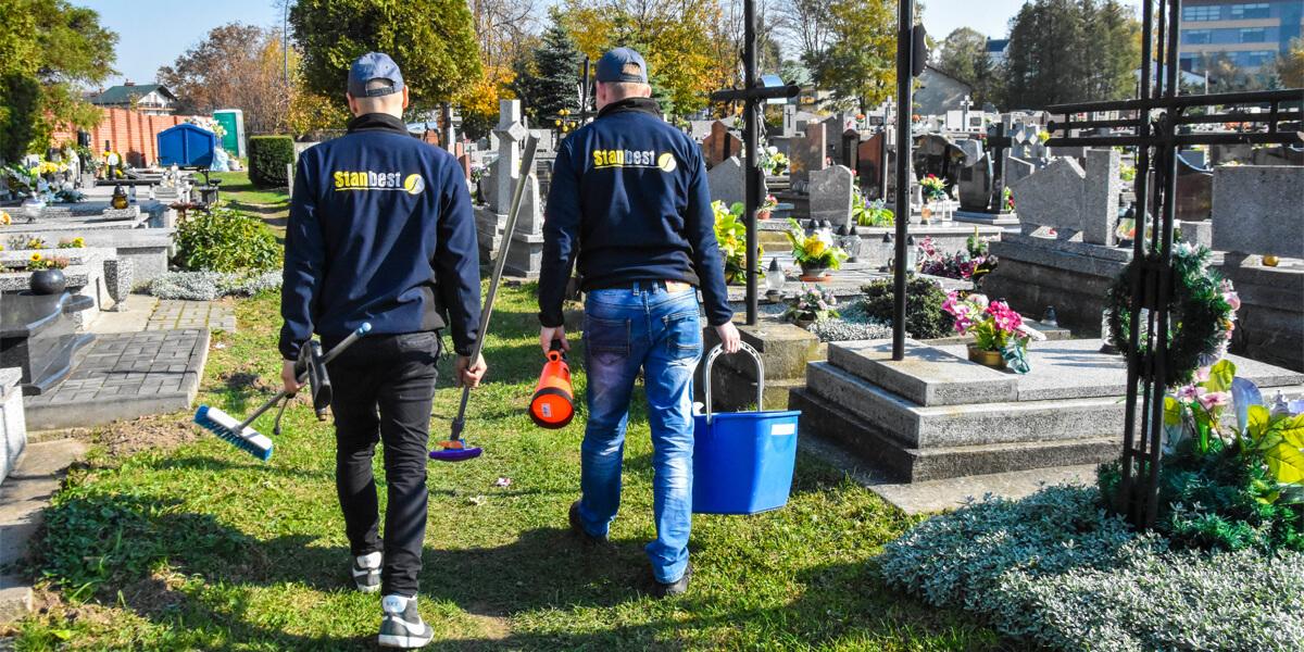 Usługa sprzątania grobów
