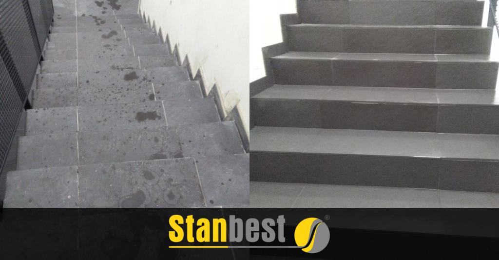 Czyszczenie schodów
